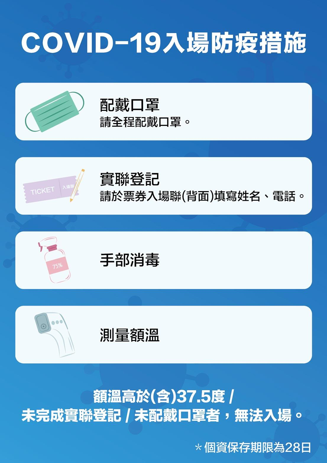 入場防疫措施