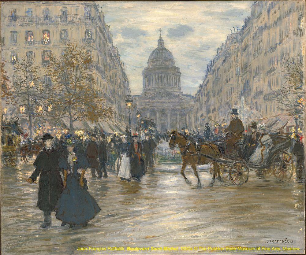 5 巴黎的城市光影-聖米歇爾大道